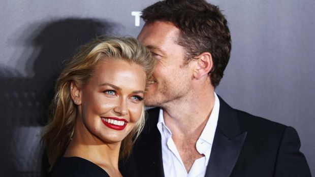 Beaming: The once very public Lara Bingle is now known as the very private Lara Bingle Worthington – on Instagram, that is.