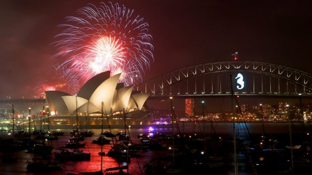 More than one million people packed the foreshores for the best views of the fireworks displays.