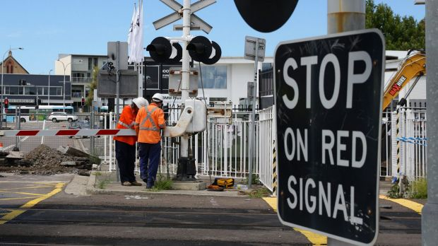 Limbo: Central Newcastle's rail line is quiet, but the dispute over its future is a hot topic after a court ruling on ...