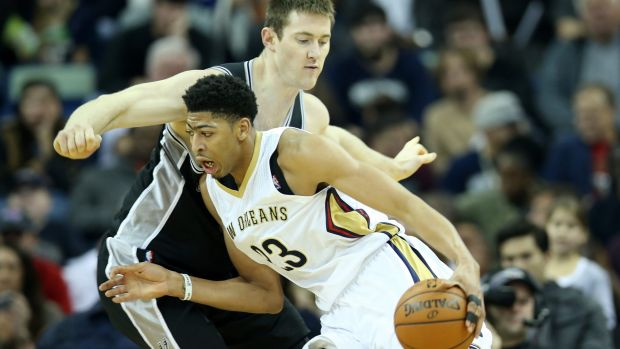 Rare bird: Young forward Anthony Davis has skill to burn, but he can't do it all by himself for the Pelicans.