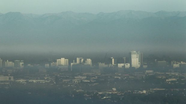 Air pollution over Christchurch: In 2012 the World Health Organisation estimated around 7 million people died as a ...