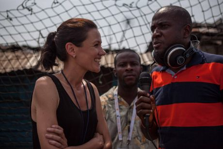 ''What happens to these people now?'' asks Carly Learson, who has been in Liberia since August.