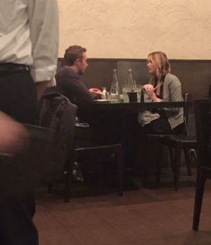 Date: The photo of Jennifer Lawrence and Chris Martin dining together was posted online on December 31.
