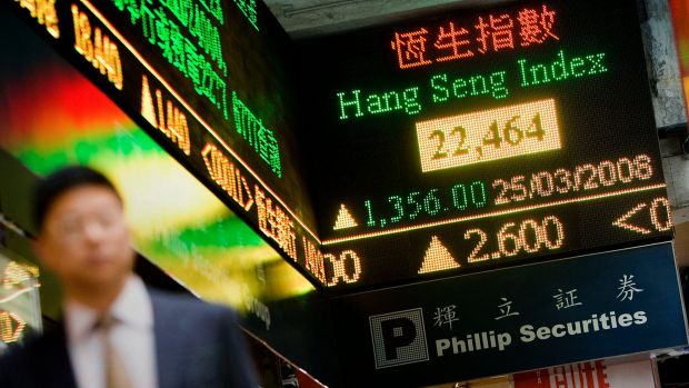 A 25 per cent surge in Hong Kong-listed shares has investors worried the market is running too hot.