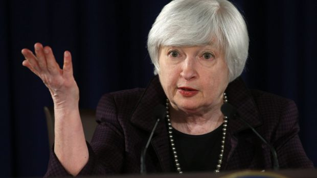 Up we go: Federal Reserve Chair Janet Yellen is preparing to raise interest rates this year.