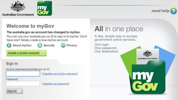 Security of myGov has been increased.