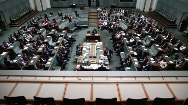 Politicians were kept busy at  Parliament House in 2014.