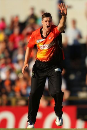 Jason Behrendorff has been the highest wicket taker in the BBL playing for the Perth Scorchers.