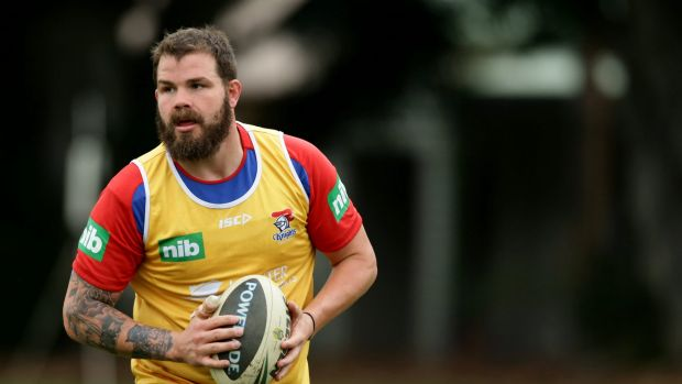 Star in the making: Leeds recruit and former Newcastle Knight Adam Cuthbertson.