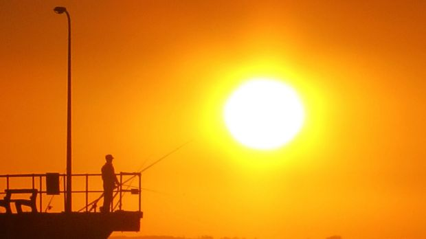 WA was the hottest place on earth for the second day in a row on Tuesday.