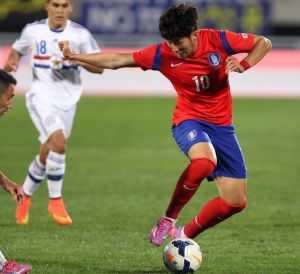 One to watch: South Korean superstar Son Heung-Min dazzles against Paraguay.