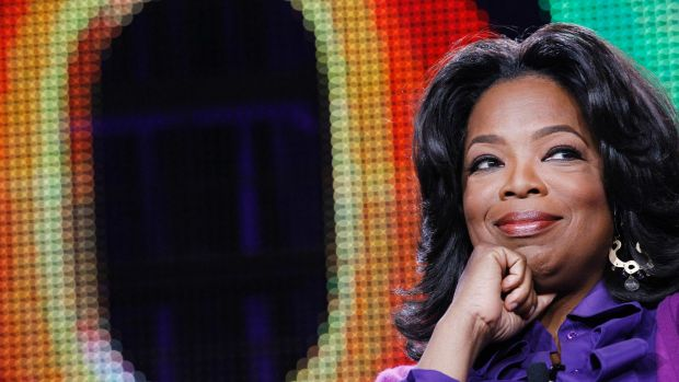Oprah Winfrey has been criticised by African-American protesters for being out of touch.
