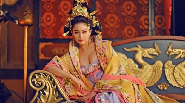 """Censored: scenes from """"The Empress of China""""."""
