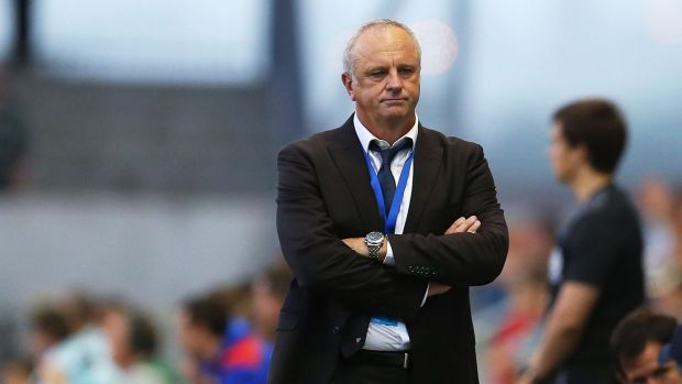 """""""That's cost us three points, but they don't care, they don't get punished."""" - Graham Arnold."""