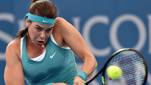 Surprise upset: Australian resident Ajla Tomljanovic beat former world No.1 Jelena Jankovic in round one at the Brisbane ...