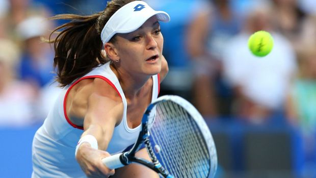 Agnieszka Radwanska is eyeing off grand slam success with Martina Navratilova in her corner.