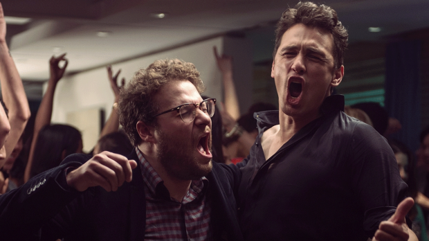 'Yes we made the Razzies!' ... Hardly, but Seth Rogen and James Franco's movie <i>The Interview</i> would have ...