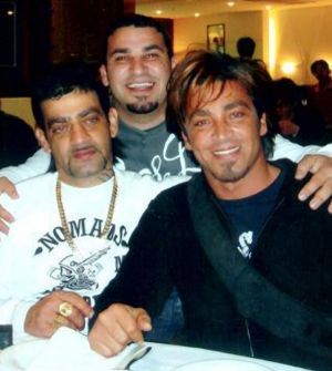Shooting victim Michael Ibrahim (middle) poses with brothers Sam (left) and John.