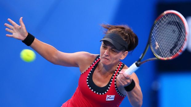 Casey Dellacqua says the Hopman Cup is the perfect tournament for her to prepare for the Australian Open.