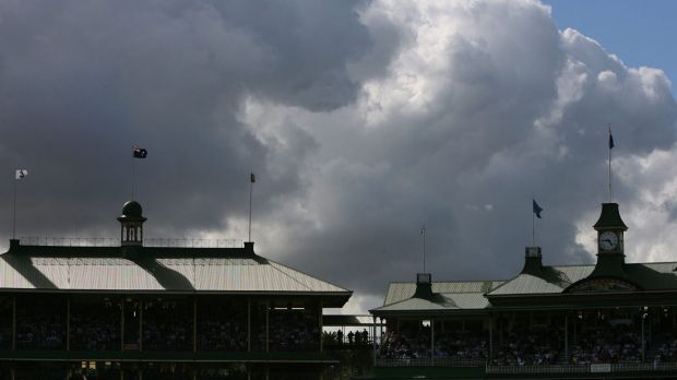 Under a cloud: meteorologists are hopeful the Moore Park precinct may escape rain forecast for Tuesday.