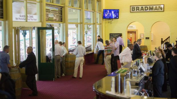 The rules of play: The members' bar.