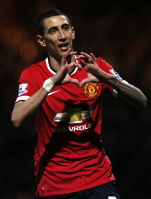 Anxious: Angel di Maria.