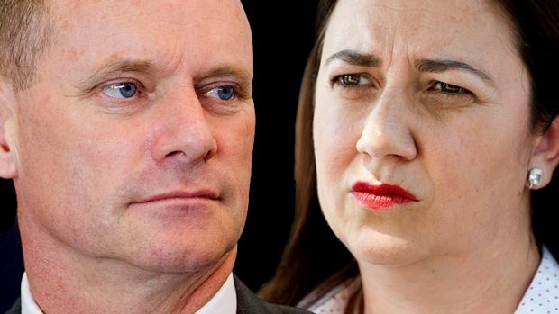Campbell Newman and Annastacia Palaszczuk will go head to head at the January 31 election.