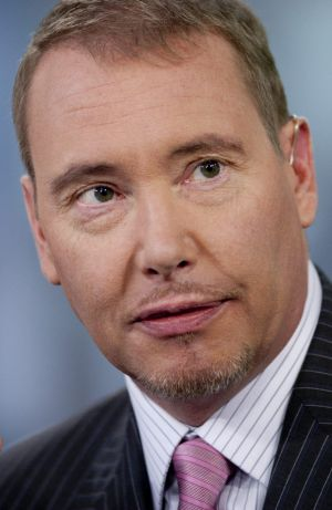 Jeff Gundlach believes that oil at $US55 a barrel or below shows there will be no inflation in the United States, except ...