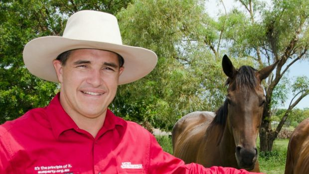 Katter's Australian Party MP Rob Katter could be a big player in the next Queensland government.