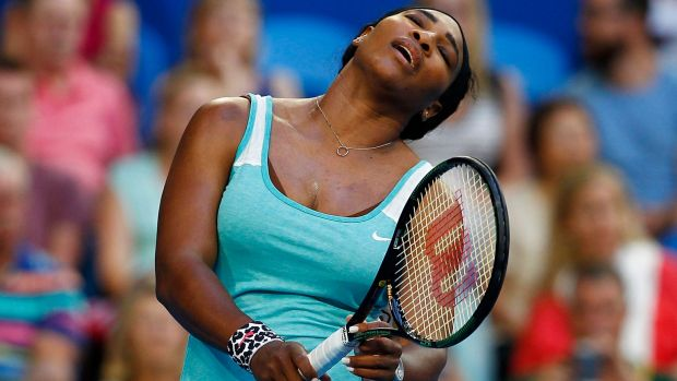 Serena Williams hasn't been at her best in Perth but says the Hopman Cup is vital to her Australian Open preparation.