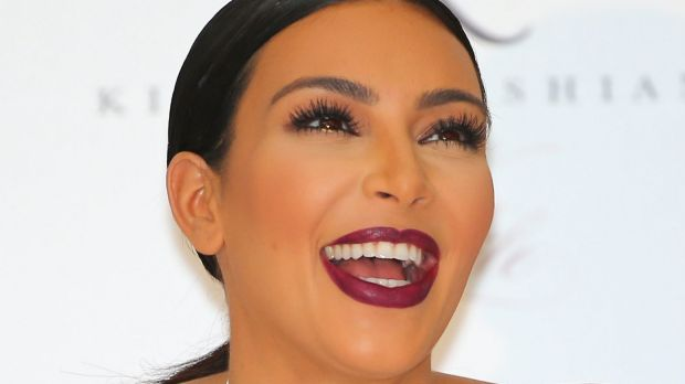 Under attack ... Kim Kardashian is the latest victim of Charlie Sheen's Twitter wrath.