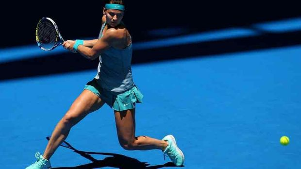 Lucie Safarova of the Czech Republic kept her good form going against Flavia Pennetta of Italy