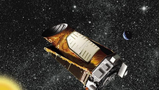 An artist's impression of NASA's Kepler space telescope.