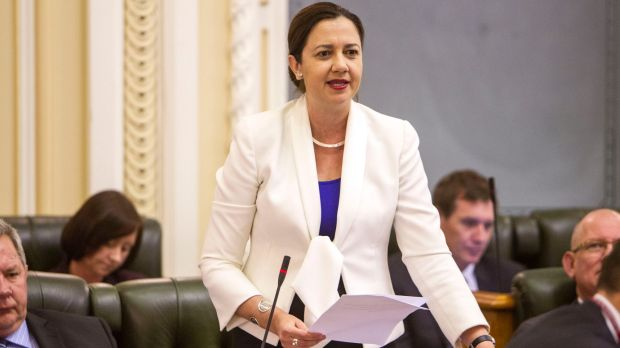 Annastacia Palaszczuk has led a tiny Labor party presence in Queensland parliament since 2012.