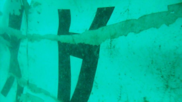 Breakthrough: Black box signals have been picked up 300 metres from the aircraft's sunken tail, which is believed to be ...