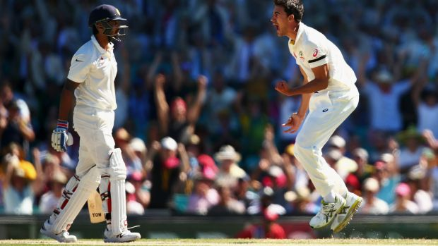 """""""I'm sure our players will stay pretty calm when they get wickets from now on"""": Australian captain Steve Smith."""