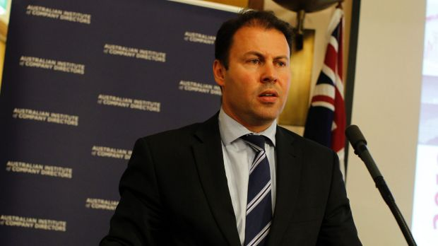 Warning: Josh Frydenberg says the government is ''very conscious we have a structural deficit and we need to bring ...
