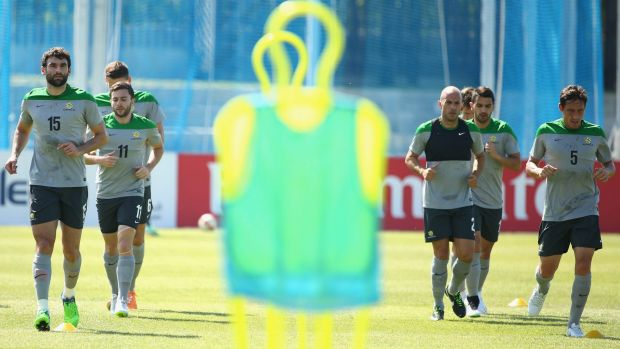 Wary: The Socceroos are taking Kuwait seriously as they prepare for the clash.