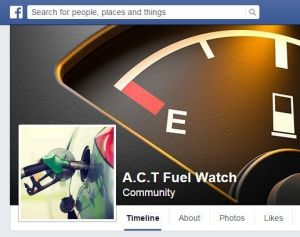 ACT Fuel Watch Facebook page
