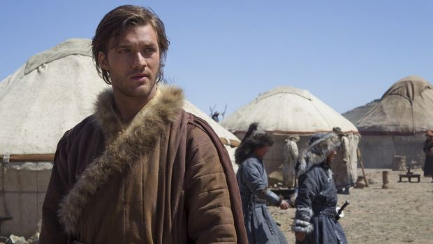 Lorenzo Richelmy in <i>Marco Polo</i>.
