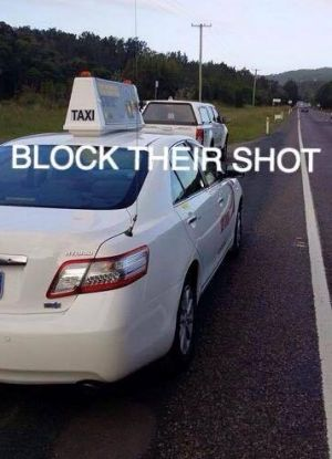 "Queensland police labelled the practice of obstructing speed cameras from taking pictures as ""dangerous""."