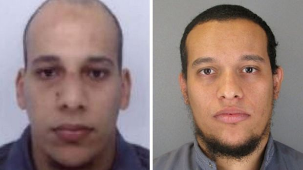 Died in shootout with police in Dammartin ... Photos released by French police showing terrorist suspects Cherif Kouachi ...