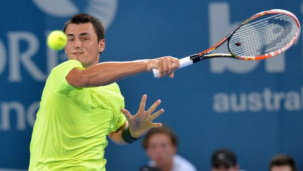 He's back: Bernard Tomic's hard work is paying off.