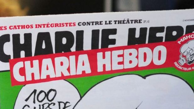 Detail from a controversial issue of Charlie Hebdo in 2011.