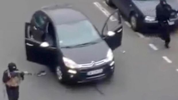 Twelve people were killed in the attack on Charlie Hebdo.