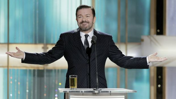 Golden Globes host Ricky Gervais made organisers squirm in 2011.