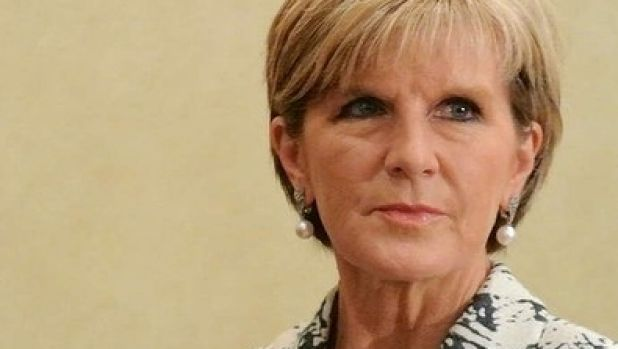 No-show: Julie Bishop.