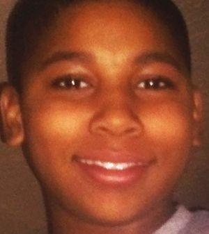 Violence: Tamir Rice, a 12-year-old boy who was fatally shot by Cleveland police officers in November.