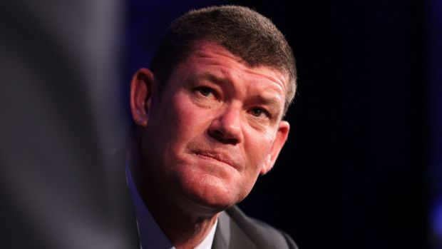 """""""Of course it's frustrating"""": James Packer."""