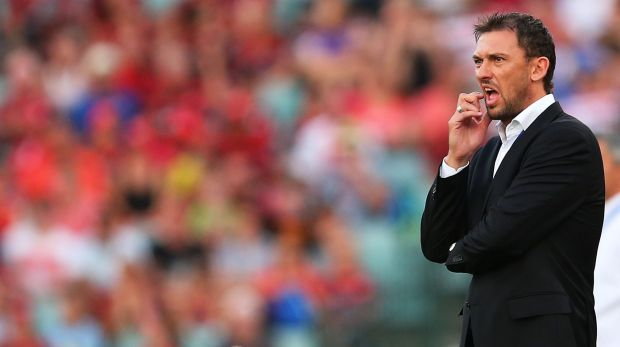 In the spotlight: Western Sydney Wanderers coach Tony Popovic.